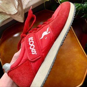 KangaROOS Shoes - Vintage KangaROOS ROOS Red Sneakers size 8.5